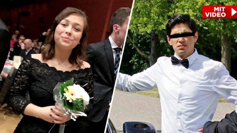 Afghánský migrant ubodal v Německu 15-letou dívku! Německá Antifa potom zaútočila na smuteční průvod za zavražděnou dívku! Starosta města za SPD v roce 2015 seznamoval nezletilé Němky s migranty!