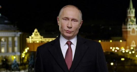 Takový byl novoroční projev Vladimíra Putina k občanům Ruska