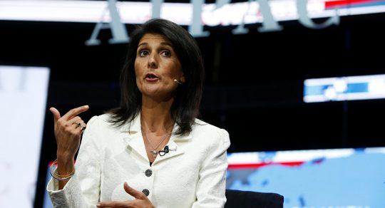 Zástupkyně USA při OSN odpověděla palestinskému vyjednavači, který ji poradil držet hubu