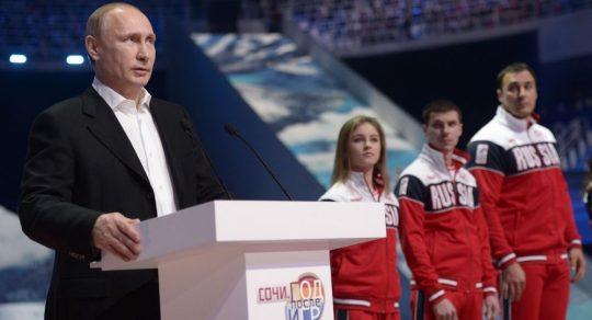 """Putin informoval o """"ovládnutí"""" dopravního letadla před zahájením OH v Soči"""