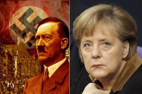 Madamme Merkelová za velkého potlesku KARDINÁLA JUDASE plní perfektně veškeré úkony na likvidaci Němců a Německa. Jak bylo kdysi řečeno