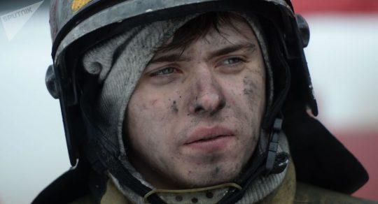 Na východě Moskvy se vznítilo obchodní centrum Perseus pro děti