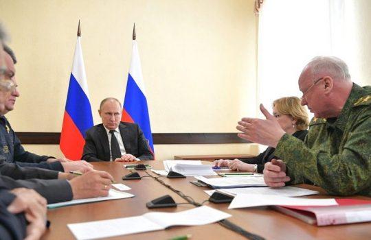 VIDEO: Vladimir Putin si zavolal na kobereček ministry a představitele z Kemerova kvůli tragédii v nákupním centru a budou padat hlavy. Provozovatel nejprve evakuoval nájemce obchodů, na děti se zapomnělo! Za slabou bezpečnost prý mohou daňové prázdniny, Putin jenom obrátil oči v sloup!