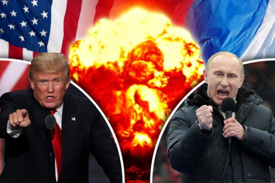 Američané poslali do vzduchu letadlo Soudného dne! Ruská televize odvysílala instrukce pro obyvatelstvo se seznamem potravin pro případ evakuace do protiatomových krytů!