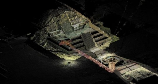 Vědci našli v tajném labyrintu pod pyramidou v Teotihuacánu kapalnou rtuť. Dovede je ke královské hrobce?