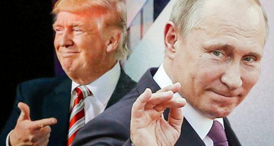"""Velká geopolitická hra. Kdo obsadil hlavní role? Trump blafuje a Putin hraje """"zlého policajta"""". Pokus Kabaly o vyvolání WW3 v Sýrii se obrátil proti ní. Bylo spuštěno RV"""