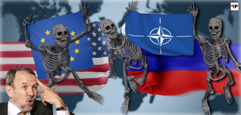 Válka opět na dotek: Výroba záminek na běžícím pásu. Válečný kabinet v Bílém domě. Skripalovi už nikdy neuvidíme? Šéf NATO bez servítků. Plyn v Sýrii. Padne dolar? Co udělá Německo? Jen my řešíme Babiše
