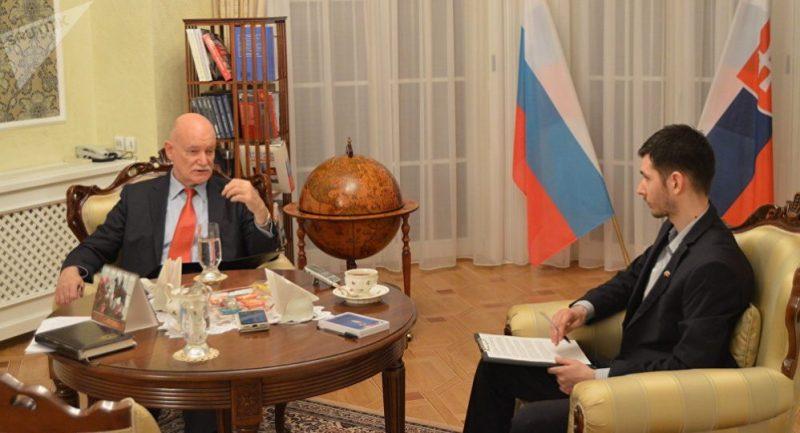 Veľvyslanec Ruska v SR: Hegemónia Anglosasov končí. Obviňujú z toho Rusko a Čínu