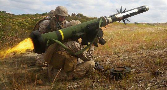 USA zakázaly Ukrajině používat komplety Javelin na Donbasu
