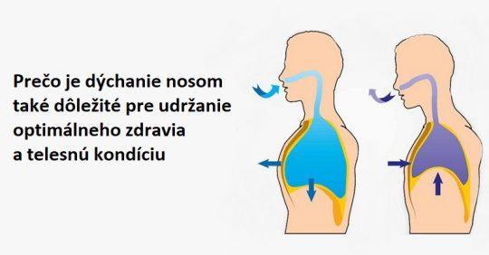 Prečo je dýchanie nosom také dôležité pre udržanie optimálneho zdravia a telesnej kondície