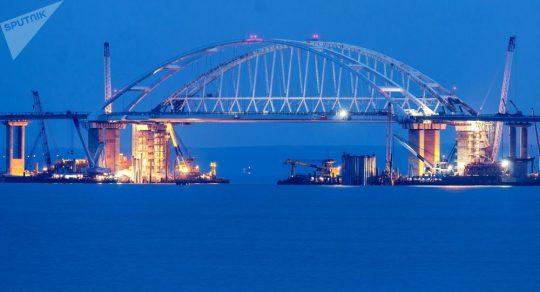 Na Ukrajině poděkovali Rusku za Krymský most