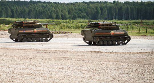 Rusko testovalo v Sýrii své bojové roboty