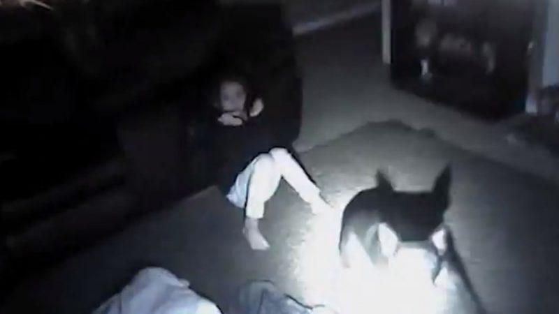 Děsivé záběry z policejní kamery ukazují, jak strážník střílí na psa a zasahuje 9 letou holčičku (VIDEO)