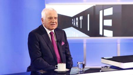 Václav Klaus na Primě potvrdil šokující informace o nátlaku Merkelové na Babiše