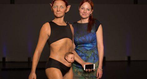 Vědci vytvořili dokonalý vzhled ženy budoucnosti. Výsledek nahání hrůzu