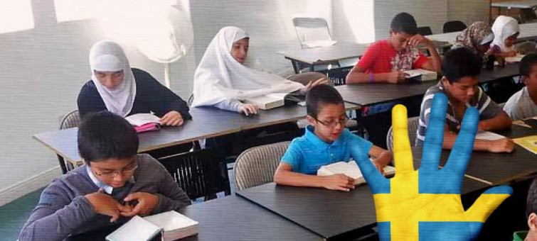 V průměru 44 procent žáků škol ve švédských městech nejsou švédi
