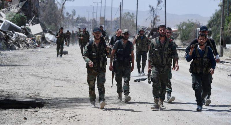 Syrská armáda rychlým tempem osvobozuje jih země od teroristů