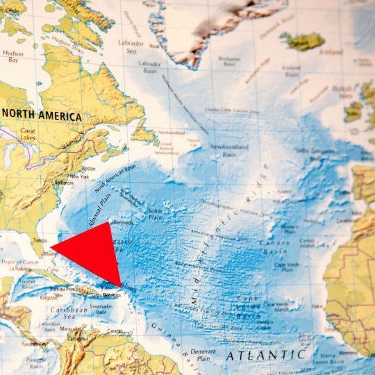 Bylo rozluštěno tajemství záhuby lodí v Bermudském trojúhelníku