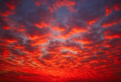 Rudé nebe – proroctví