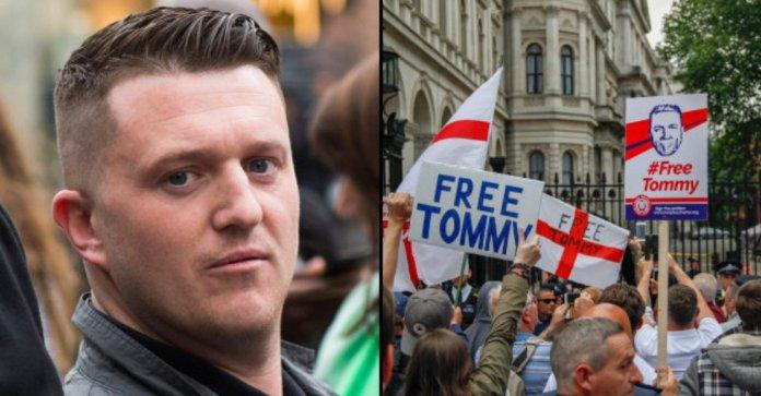 Tommy Robinson píše z vězení