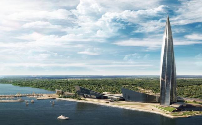 V Petrohradu finišuje dostavba nejvyšší budovy Evropy