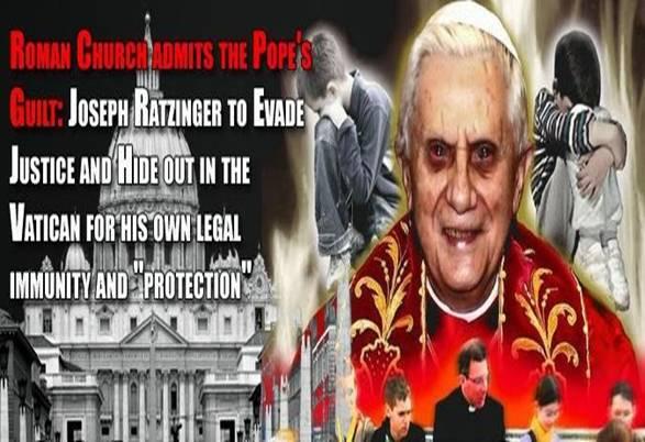 Satanistická pedofilná elita z krvavým Vatikánom a jej kontrola sveta s ich plánom na našu likvidáciu. Rusko je naša jediná záchrana