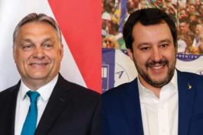 Orbán přijme Salviniho; CDU však varuje maďarskou vládu před posunem doprava