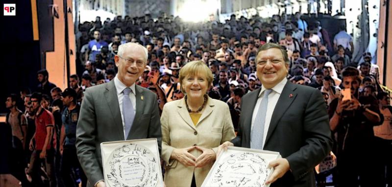 Evropa nad propastí: Bod, odkud není návratu? Soustavná depopulace a rodina v troskách. Za co dostala Merkelová Kalergiho cenu? Invaze migrantů jako konečné řešení. Konspirační horor na sobotní večer?