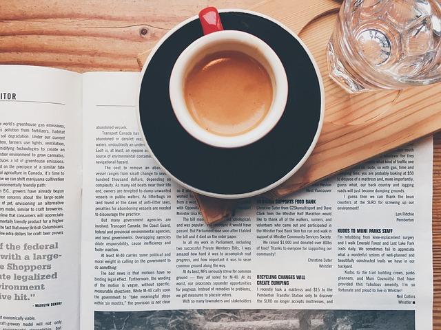 Svět při úterní ranní kávičce Terezy Spencerové