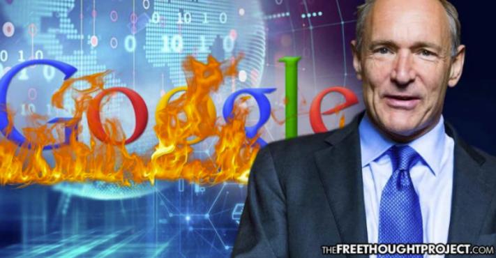 Otec internetu volá po tom, aby si lidé vzali zpět internet od Googlu a Facebooku