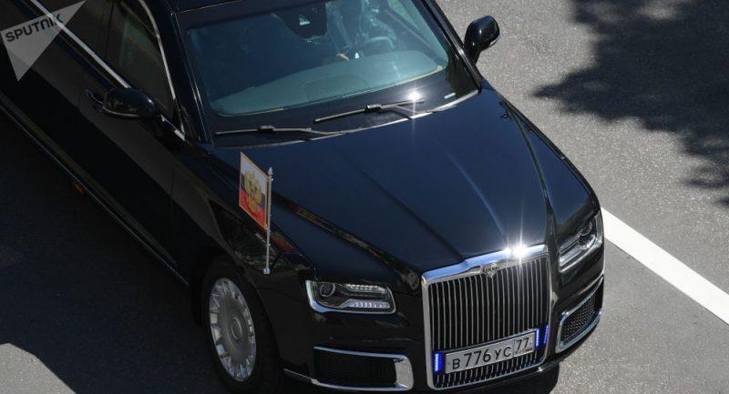 """Argentinská média označila Putinovu limuzínu za """"bunkr na kolech"""""""