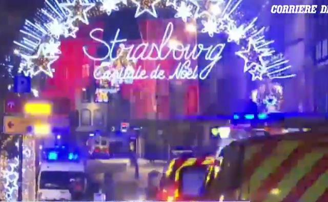 Na vianočnom trhu v Štrasburgu sa dnes večer po 20. hodine strieľalo. Zatiaľ to nie je potvrdené, ale zdá sa, že ide o teroristický čin