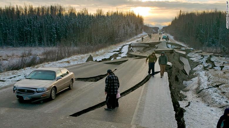 Aljašku zasáhlo za poslední týden více než 230 malých zemětřesení