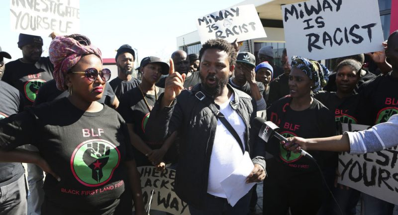 Jihoafrický politik vyzval k zabíjení bělochů