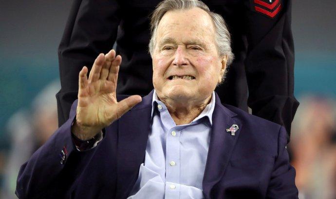 Bývalý americký prezident George H.W. Bush zemřel