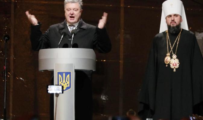 Prezident Porošenko vyhlásil založení nové pravoslavné církve nezávislé na Rusku