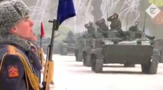 V Rusku se koná vojenská přehlídka k připomenutí obléhání Leningradu před 75 lety