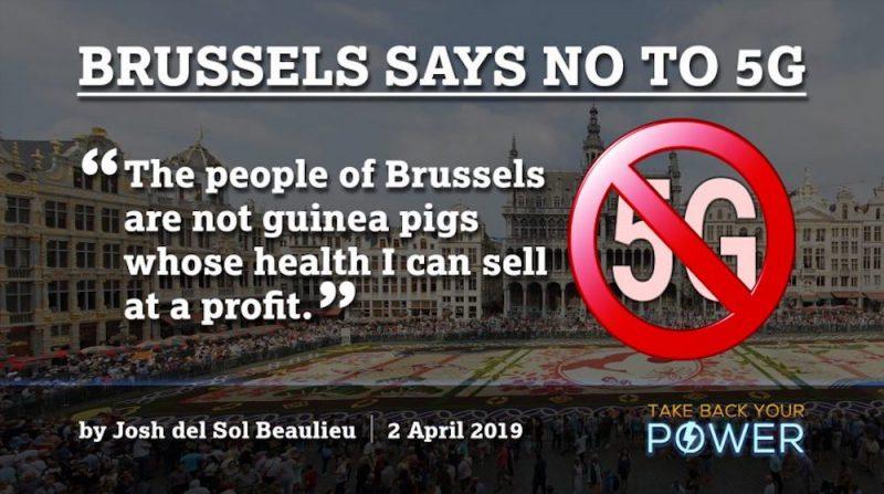 Brusel sa stáva prvým hlavným mestom, ktoré zastavuje vývoj 5G siete kvôli jej účinkom na zdravie