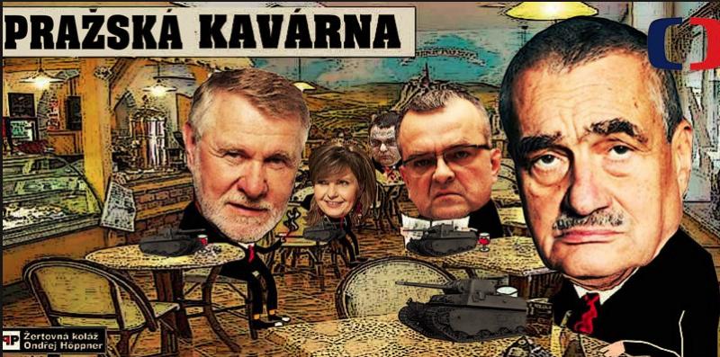 Pražská kaviareň v panike : Českou spoločnosťou sa šíri virálne video na vystúpenie z EÚ