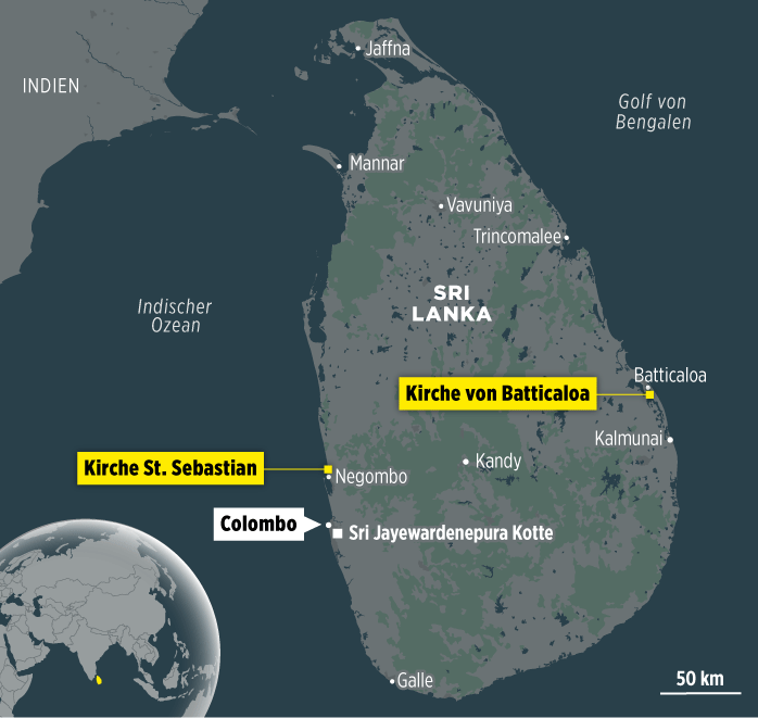 Média: Nedaleko kostela v Kolombu na Srí Lance došlo k dalšímu výbuchu
