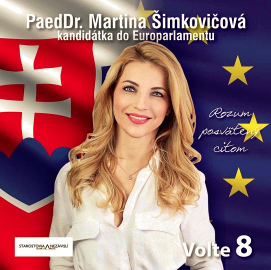 Kandidátka na europoslankyňu Šimkovičová exkluzívne