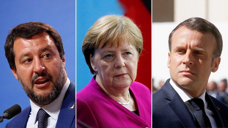 """Salvini vzkázal Merkelové: """"S vámi spolupracovat nechceme"""""""