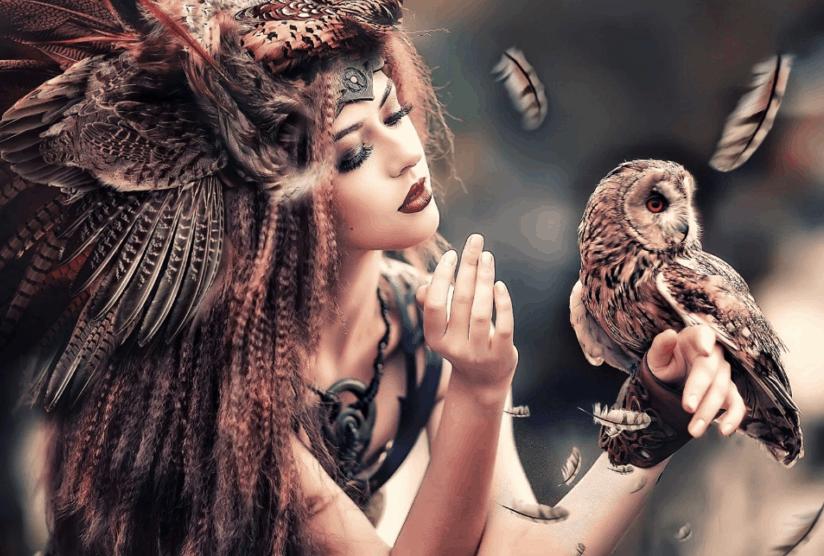7 znamení která prozrazují, že máte šamanské schopnosti