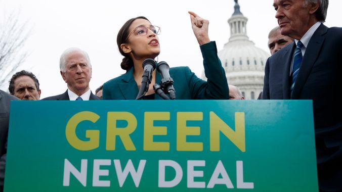Svět skončí za 12 let, jestliže okamžitě nerozjedeme GREEN NEW DEAL?