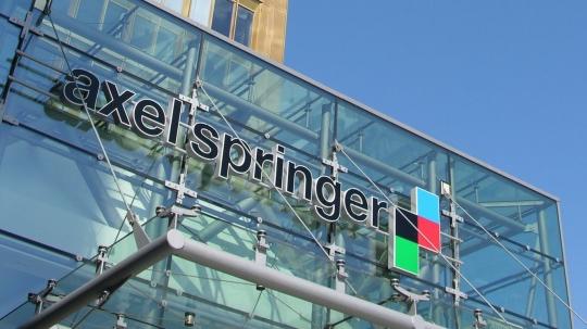 Finanční džihád chce získat německého vydavatele Axel Springer