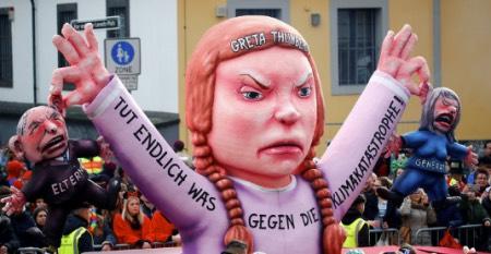 Běž do pr***e Gréto. Na německých silnicích se objevují samolepky namířené proti mladé aktivistce