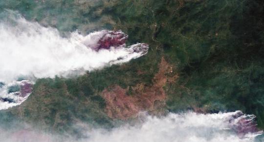 Putin povolal armádu na pomoc s bojem proti lesním požárům na Sibiři