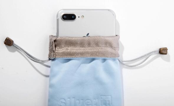Chraňte se před EMZ: Pouzdro na telefon se 100% stříbrným vláknem vás spolehlivě ochrání před zářením i odposlechem