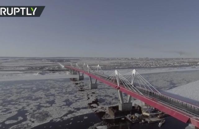 Rusko a Čína dokončily svůj první přeshraniční dálniční mega most