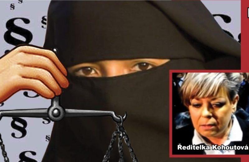 Šokující rozsudek: V českých školách se smí nosit muslimský hidžáb! Žalovaná ředitelka školy se zhroutila